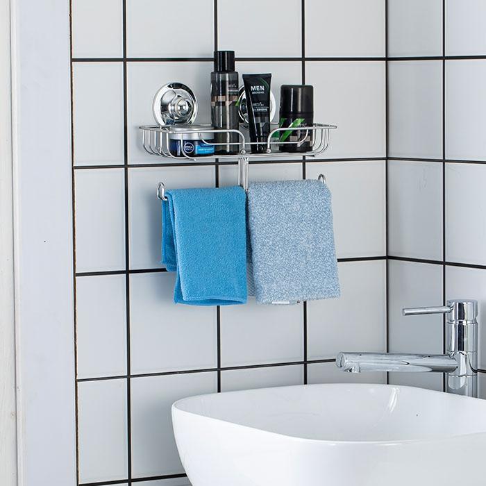 电镀不锈钢浴室多功能挂架