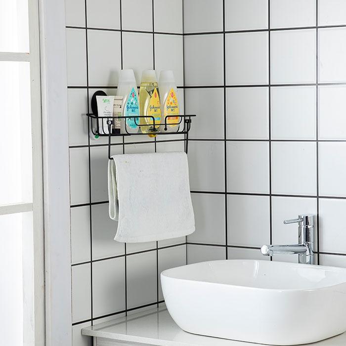 喷涂不锈钢浴室多功能挂架
